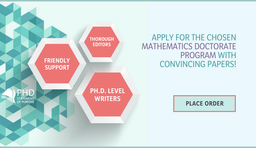 statement of purpose for phd in maths help
