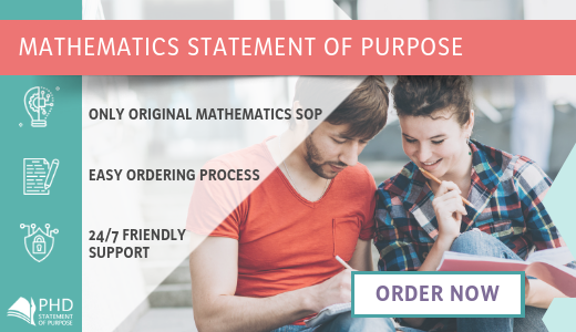 writing help with statement of purpose for phd in mathematics