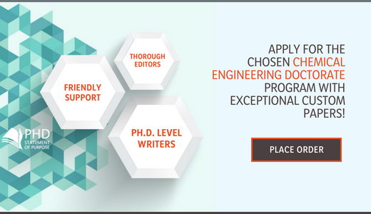 chemical engineering statement of purpose for phd application
