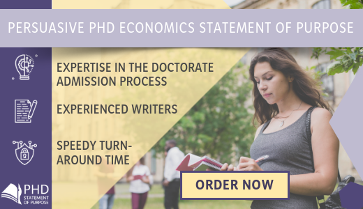 economics phd statement of purpose assistance