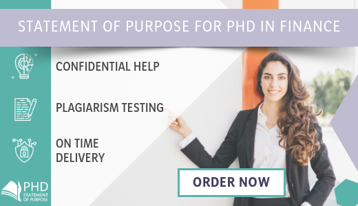 finance statement of purpose for phd application help