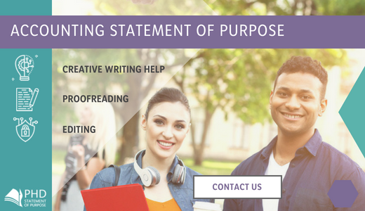 good phd statement of purpose accounting help