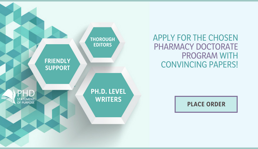 phd in pharmacy statement of purpose writing help