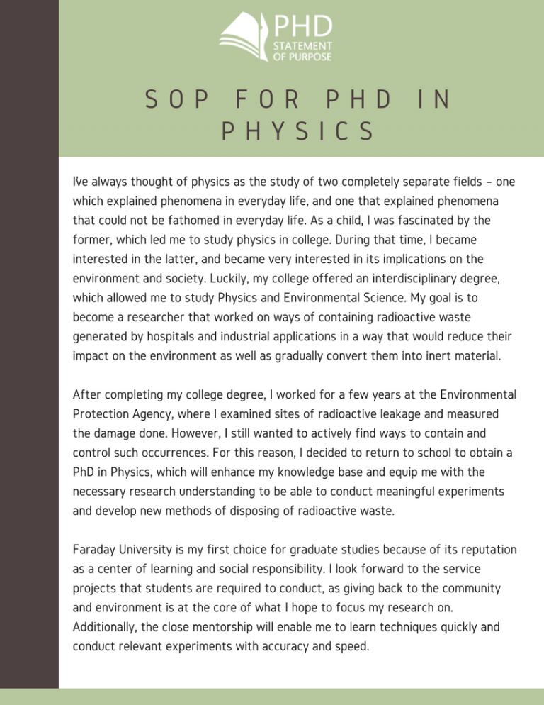Cover letter physics phd