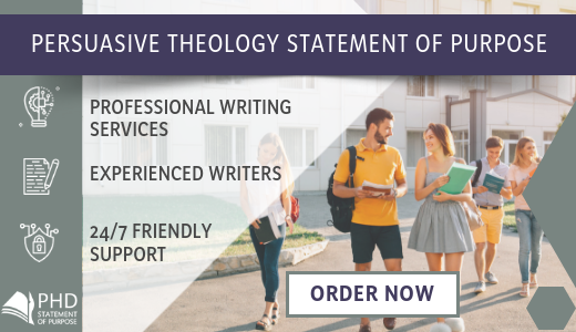 theology phd statement of purpose writing help