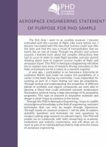 sample aerospace engineering statement of purpose for phd