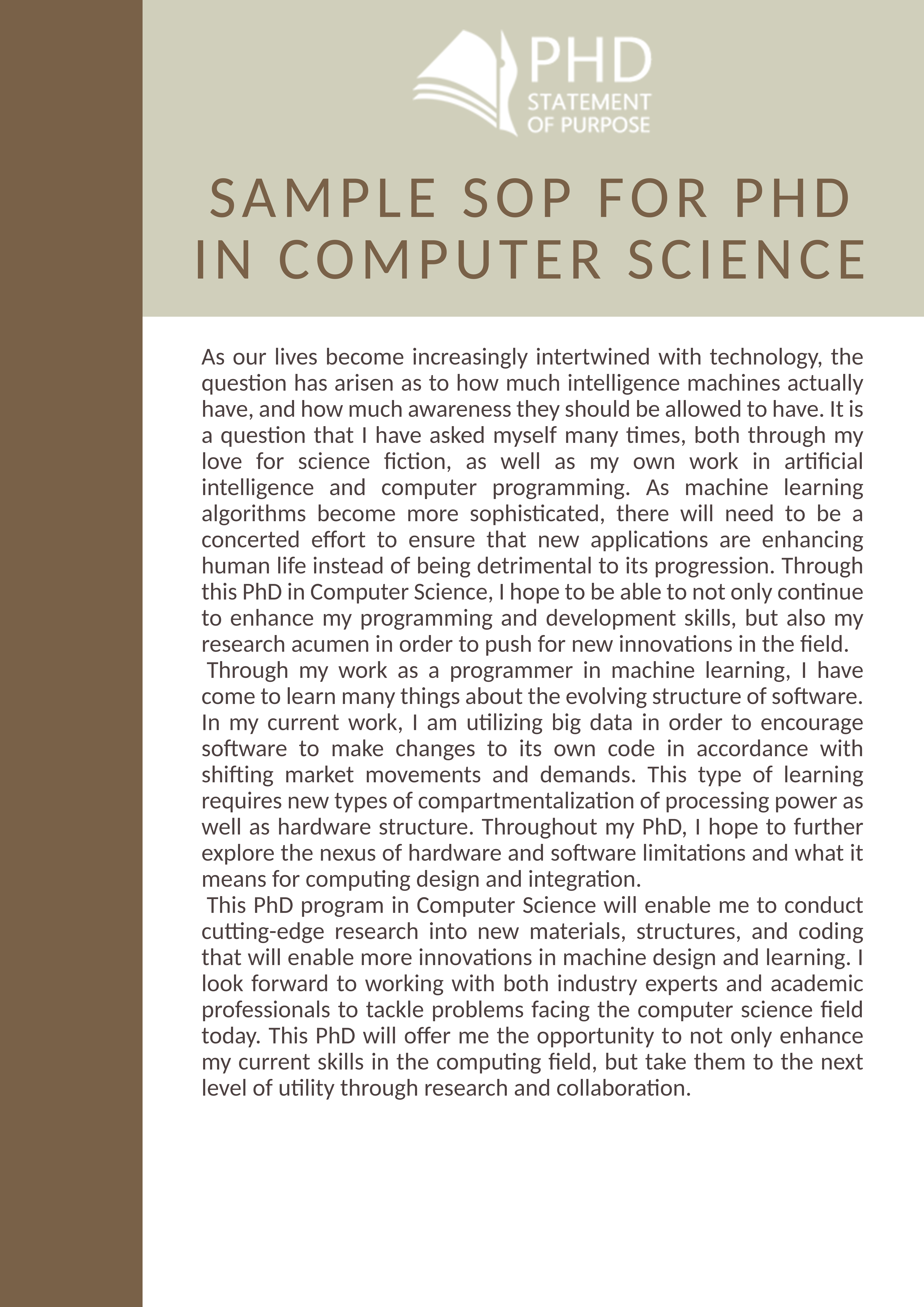 Phd thesis for computer science