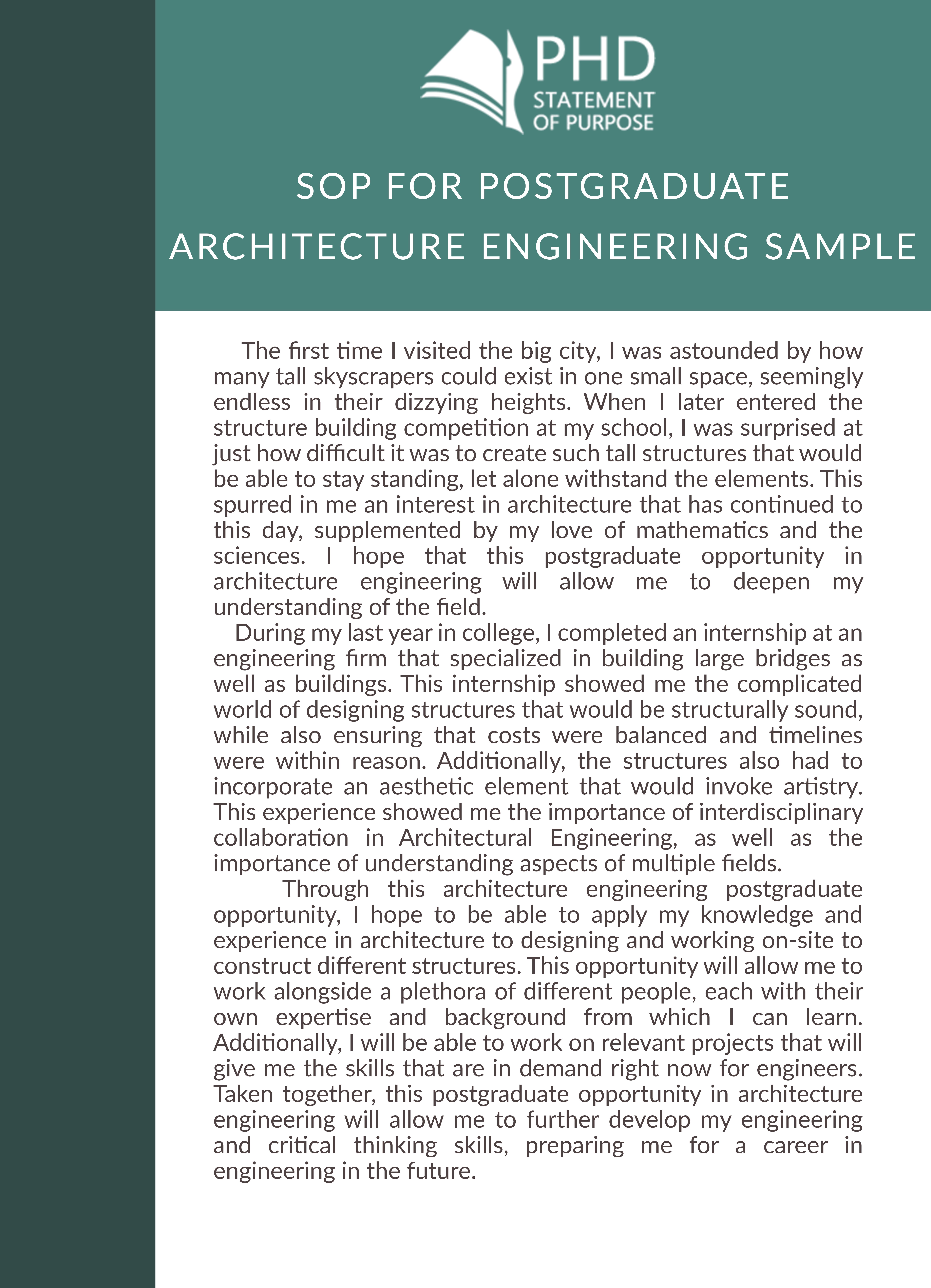 statement of purpose engineering graduate school  u0026 phd help
